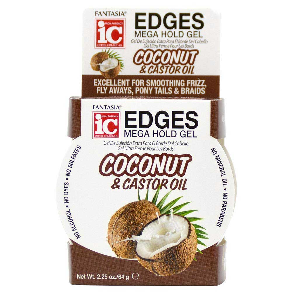 FANTASIA COCONUT & CASTOR OIL EDGES MEGA HOLD GEL