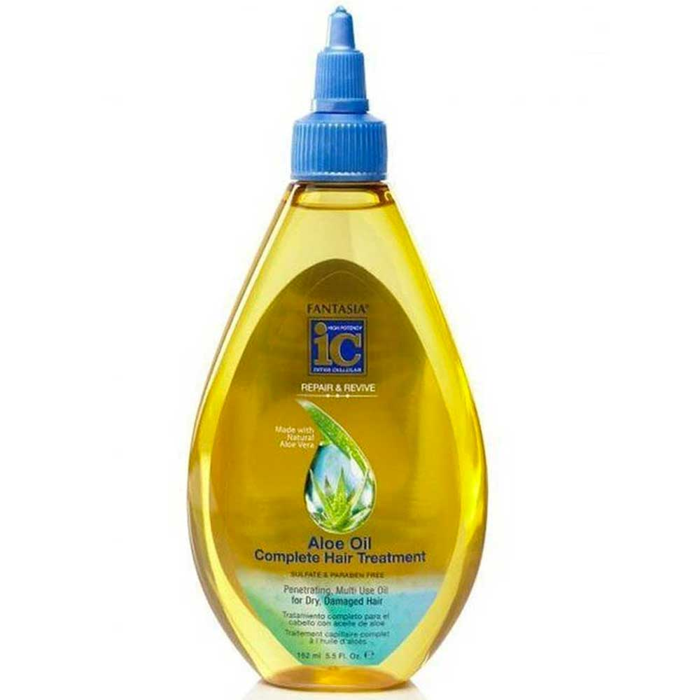 FANTASIA IC REPAIR & REVIVE ALOE OIL COMPLETE HAIR TREATMENT 5.5OZ