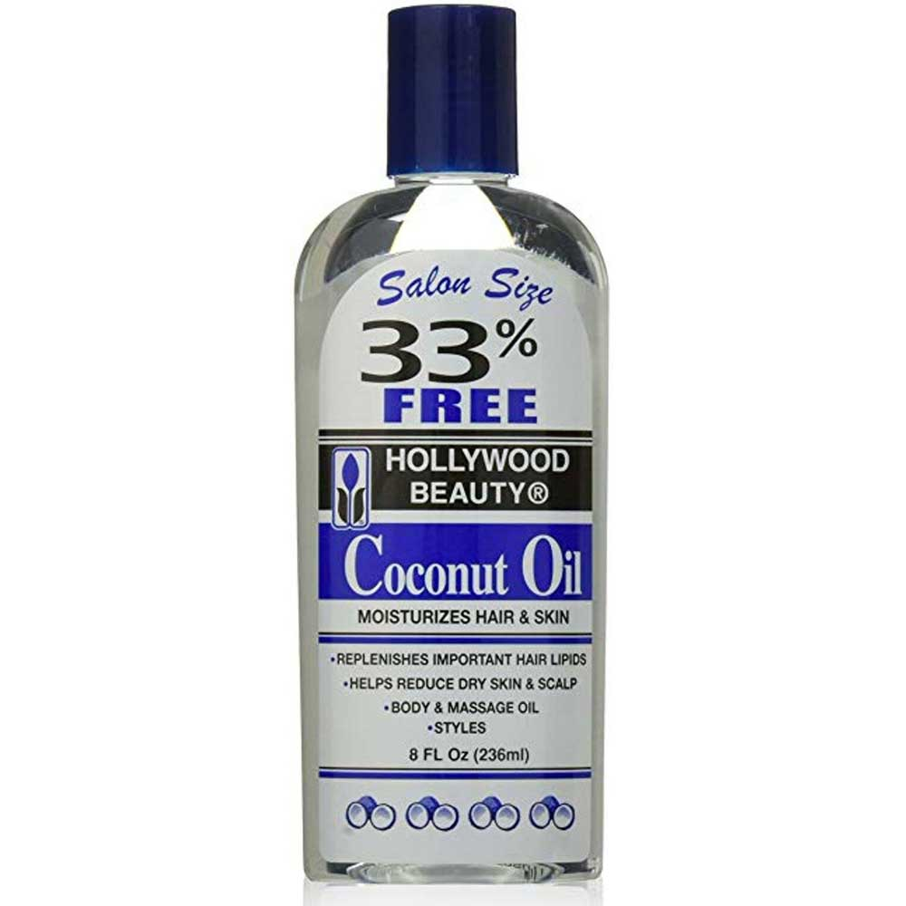 HOLLYWOOD COCONUT OIL 8OZ