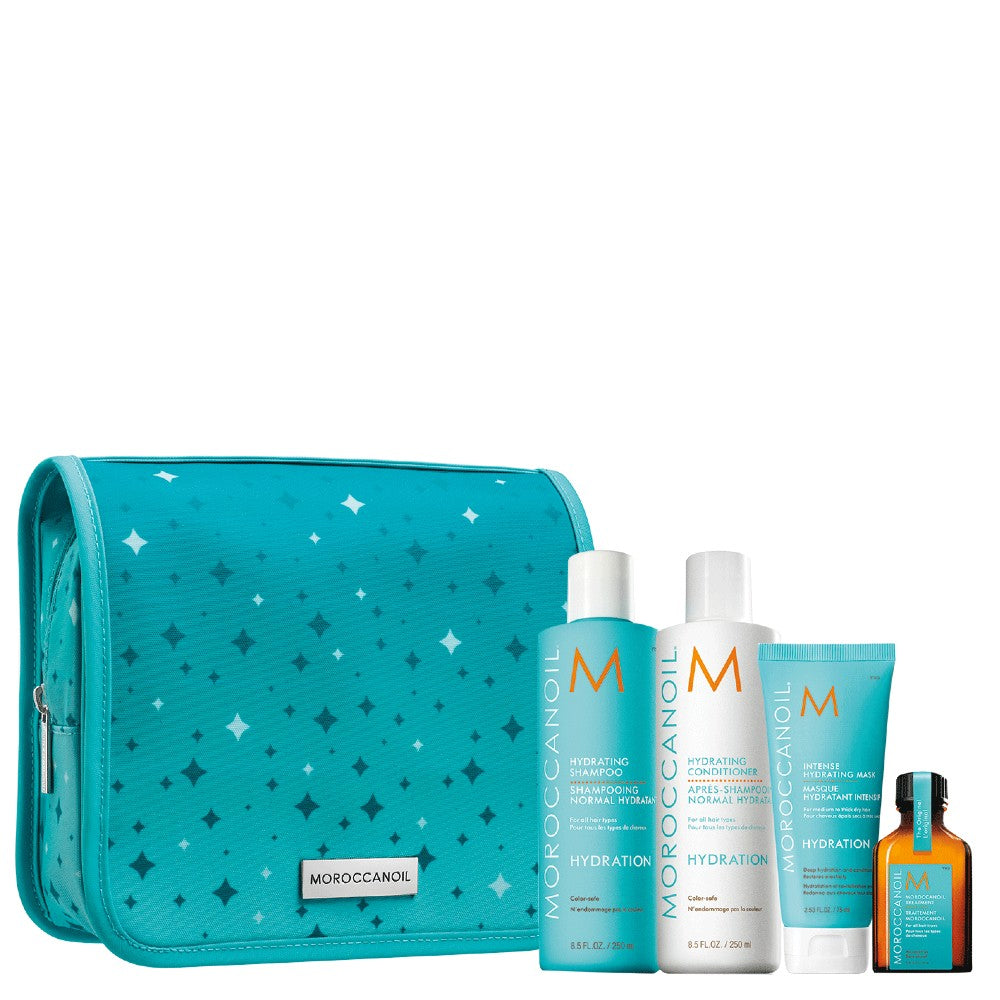 MOROCCANOIL HYDRATING SHAMPOO,CONDITIONER, MASK HOLIDAY SET