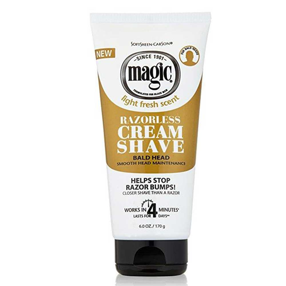 Magic Shaving Smooth Cream Shave Gold 6oz