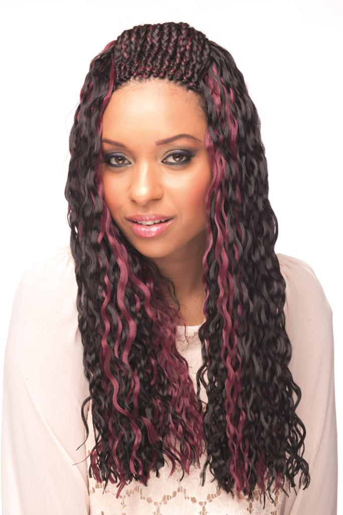 "Cherish Bulk - Baby Weft Braid 22"" ( Color: P1B/30 )"