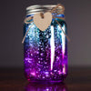 Two Tone Aqua/Purple Firefly Jar
