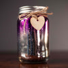 Two Tone Purple/Sliver Firefly Jar