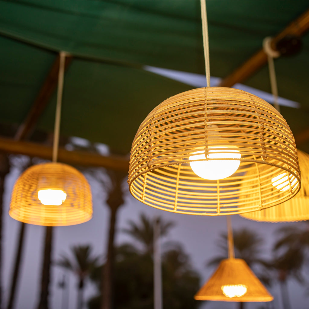 Bossa Bamboo Pendant Light ** Introductory Price **