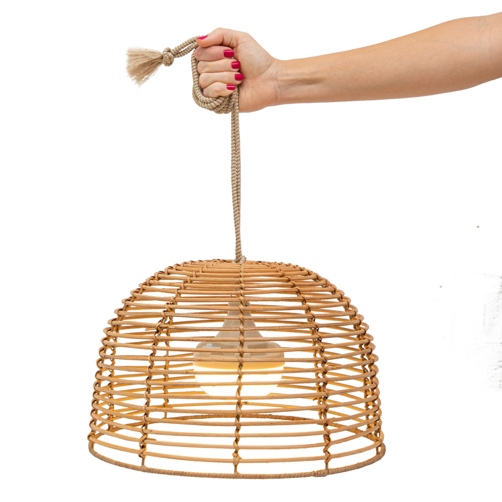 Bossa Bamboo Pendant Light