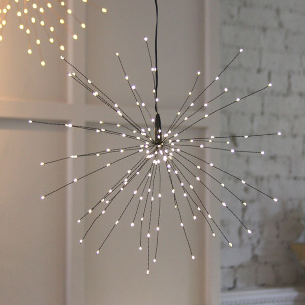 Hanging Starburst Light (Black)