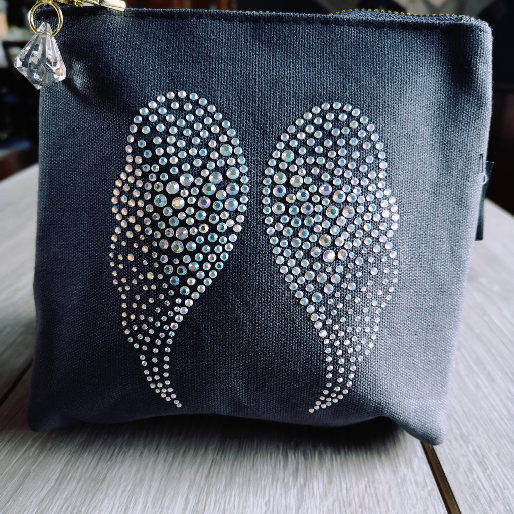 Angel Wing Makeup/Wash Bag