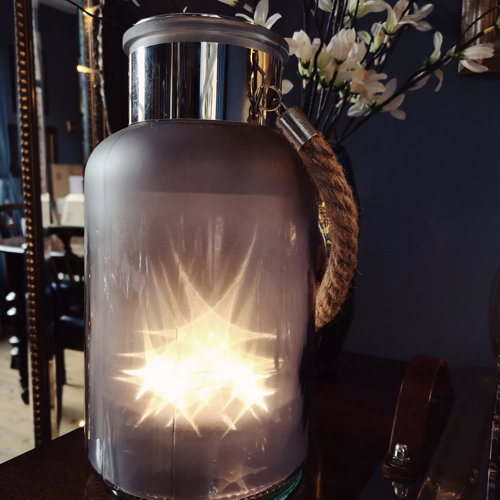 Grey Star Lantern * back in stock Feb 2020*