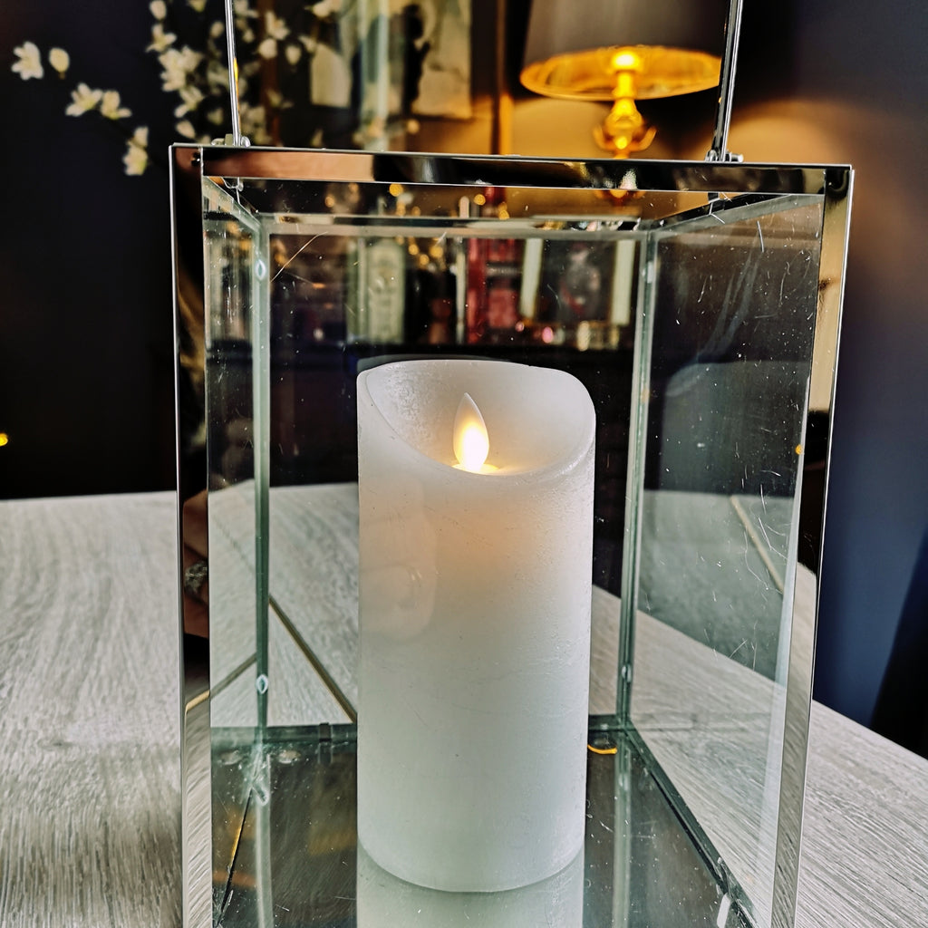 Contemporary LED Candle Lantern