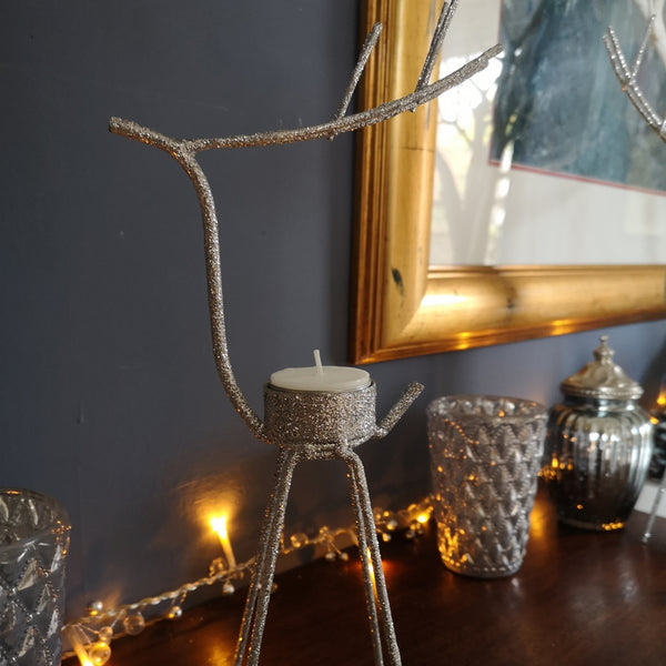 Reindeer Tea Light Candle Holders