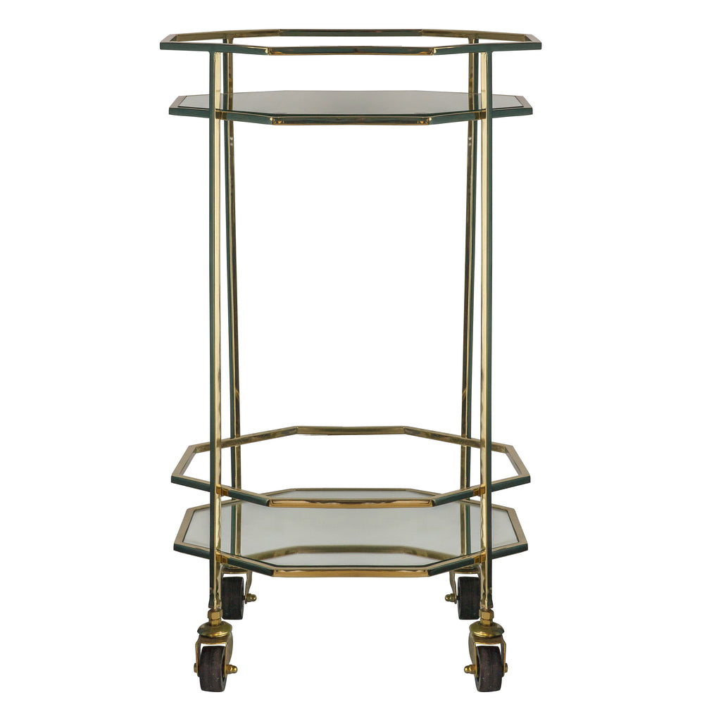 Octagonal Drinks Trolley
