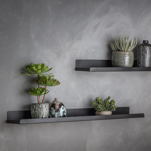 Black Shelves