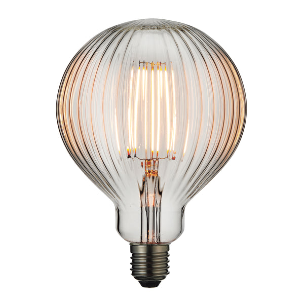 Clear Ribbed Bulb