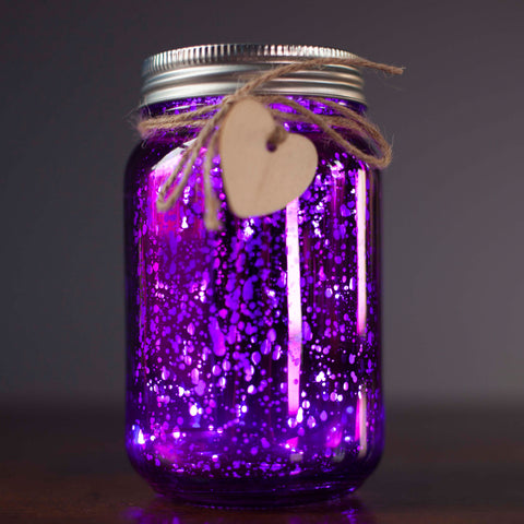 Purple Firefly Jar