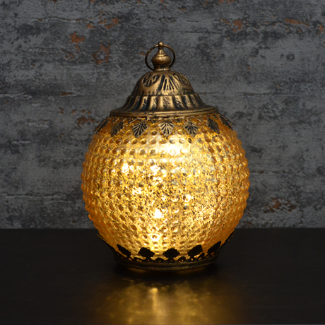 Gold Pomegranate Lantern