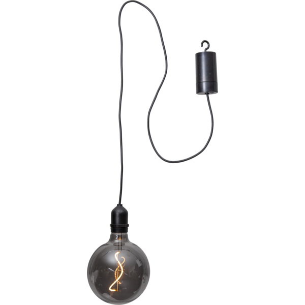 Hanging Round Bulb Light (Anthracite) **pre order for 2021**