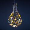 Single Hanging LED Bulb Gold