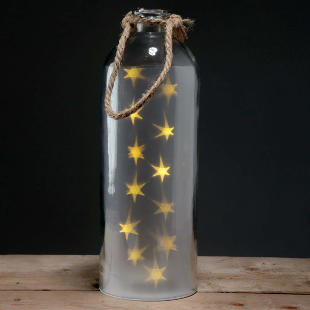 Large white star lantern