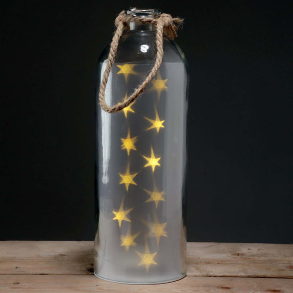 Large white star lantern *back in stock*