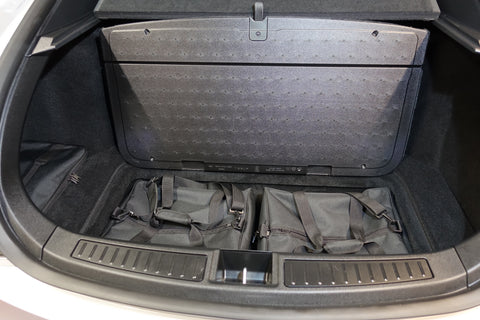 Tesla Model S - TRUNK - 2 'lower storage' bag set