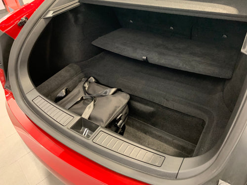 Tesla Model S - TRUNK 2 bag set - NEW v 2.0  'lower storage' bag set