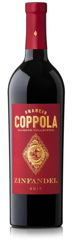 Francis Coppola Diamond Collection Zinfandel 2017 Wijnen Rouseu