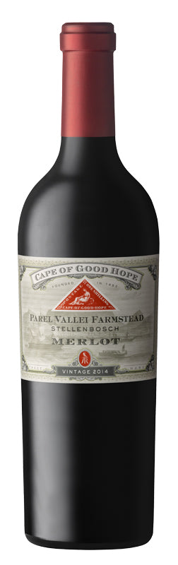Cape of Good Hope Paarl Vallei Farmstead Merlot 2014 - Wijnen Rouseu