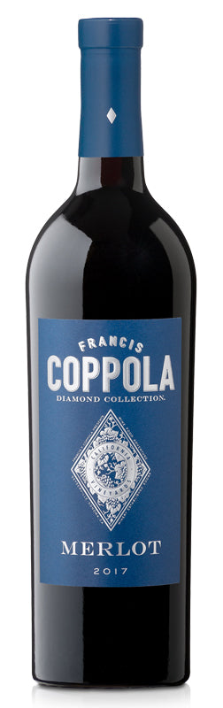Francis Coppola Diamond Collection Merlot 2017 Wijnen Rouseu