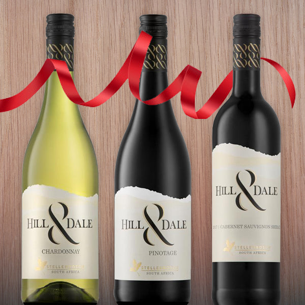 Hill & Dale  - 3 bottles - Gift Package