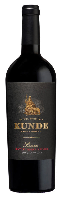 Kunde Family Estate Sonoma Valley Century Zinfandel 2012