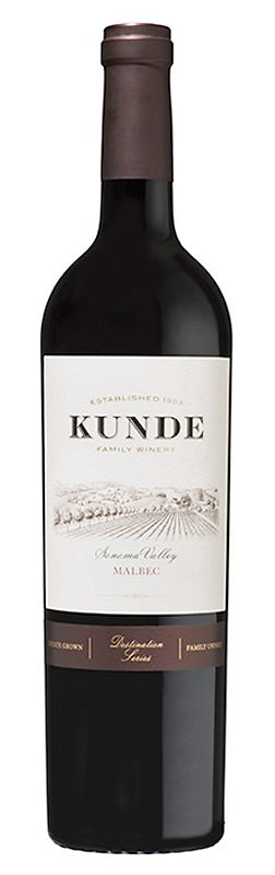 Kunde Family Estate Sonoma Valley Malbec 2013 Wijnen Rouseu