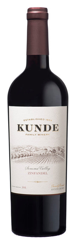Kunde Family Estate Sonoma Valley Zinfandel 2015