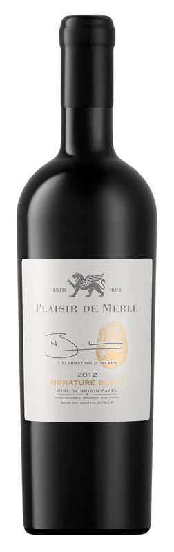 Plaisir de Merle Signature Blend 2012 - Limited Edition Wijnen Rouseu
