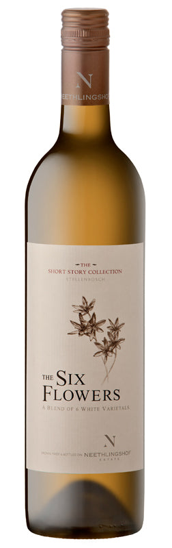 Neethlingshof Six Flowers Short Story Collection White Blend 2018 Wijnen Rouseu