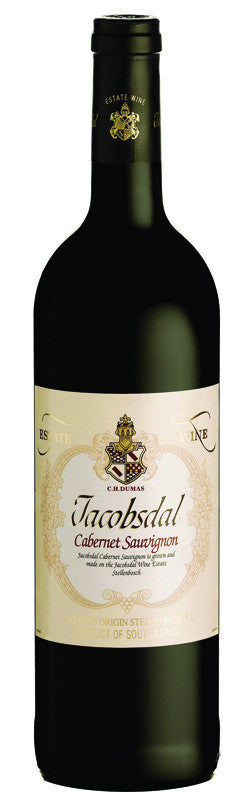 Jacobsdal Estate Cabernet Sauvignon  2014