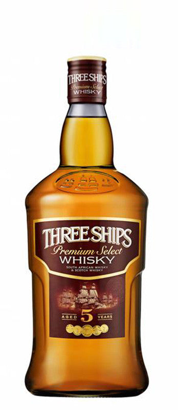 Three Ships Whisky 5 Y Grand Gold Concours Mondial de Bruxelles Spirits Selection 2016
