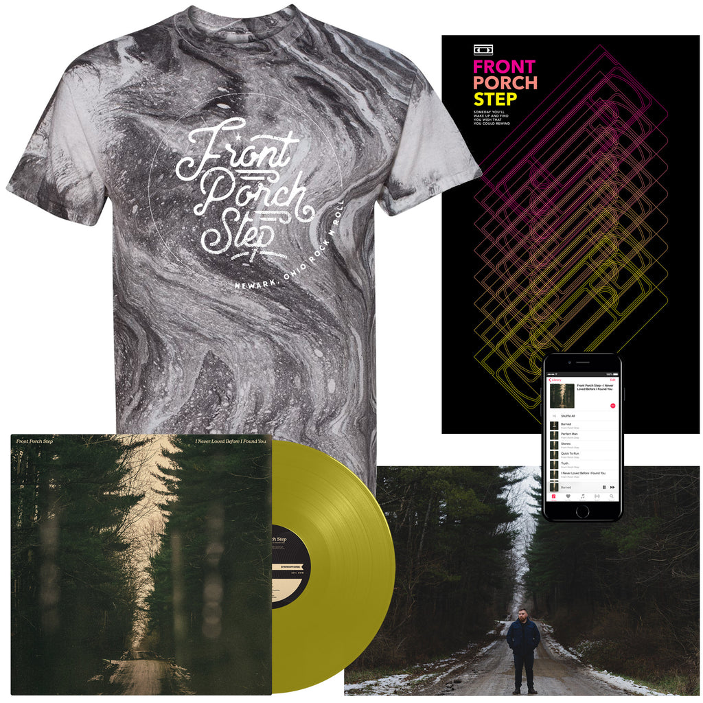 "Front Porch Step ""Acid Wash"" T-Shirt Vinyl Bundle"