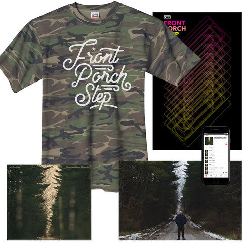 "Front Porch Step ""Camo"" T-Shirt Bundle"