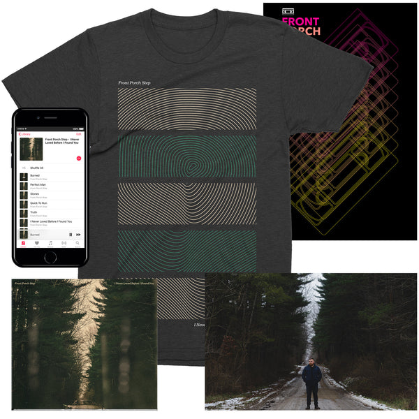 "Front Porch Step ""Surface Map"" T-Shirt Bundle"