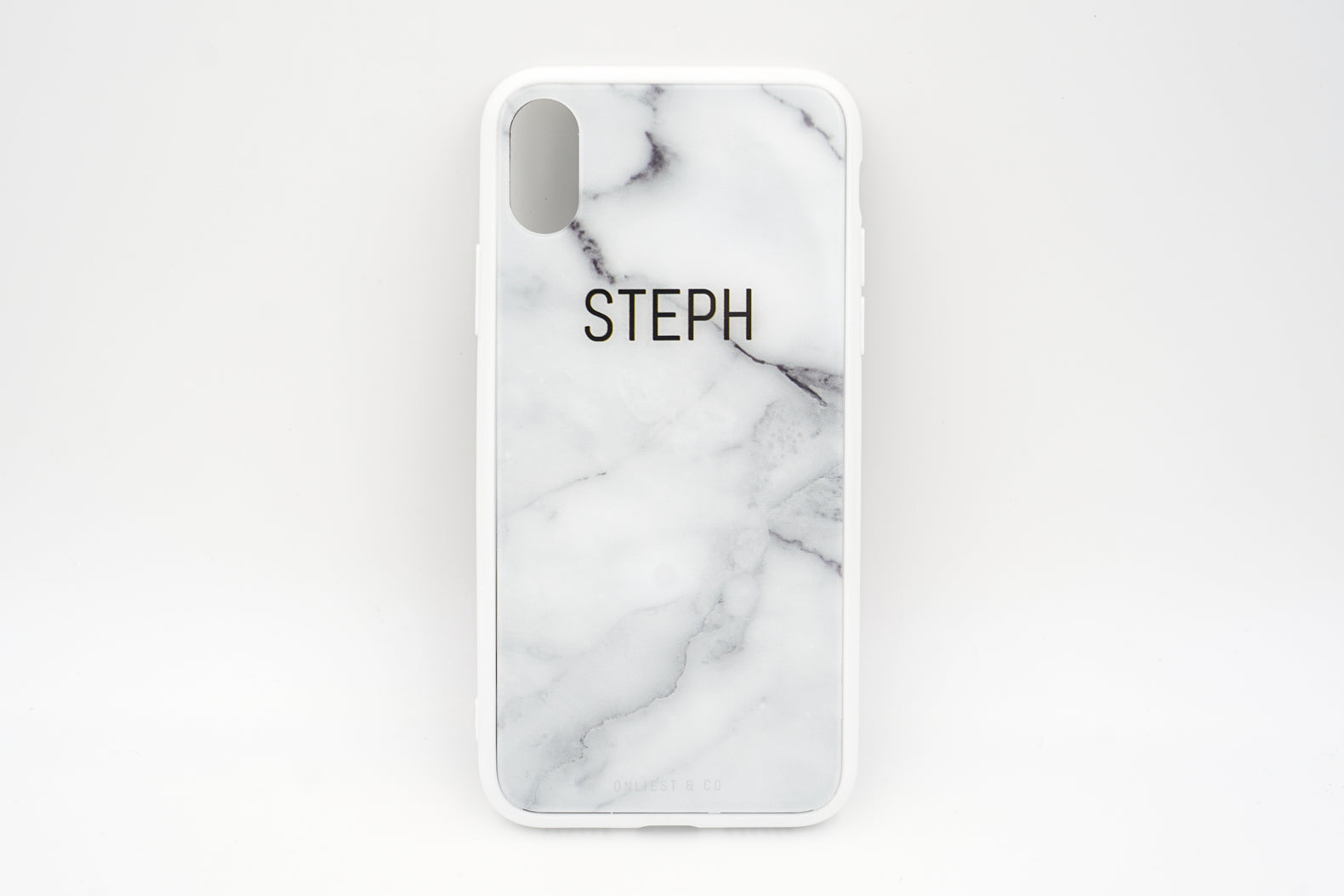 Blanc Marble Case (Glossy Finish) - iPhone