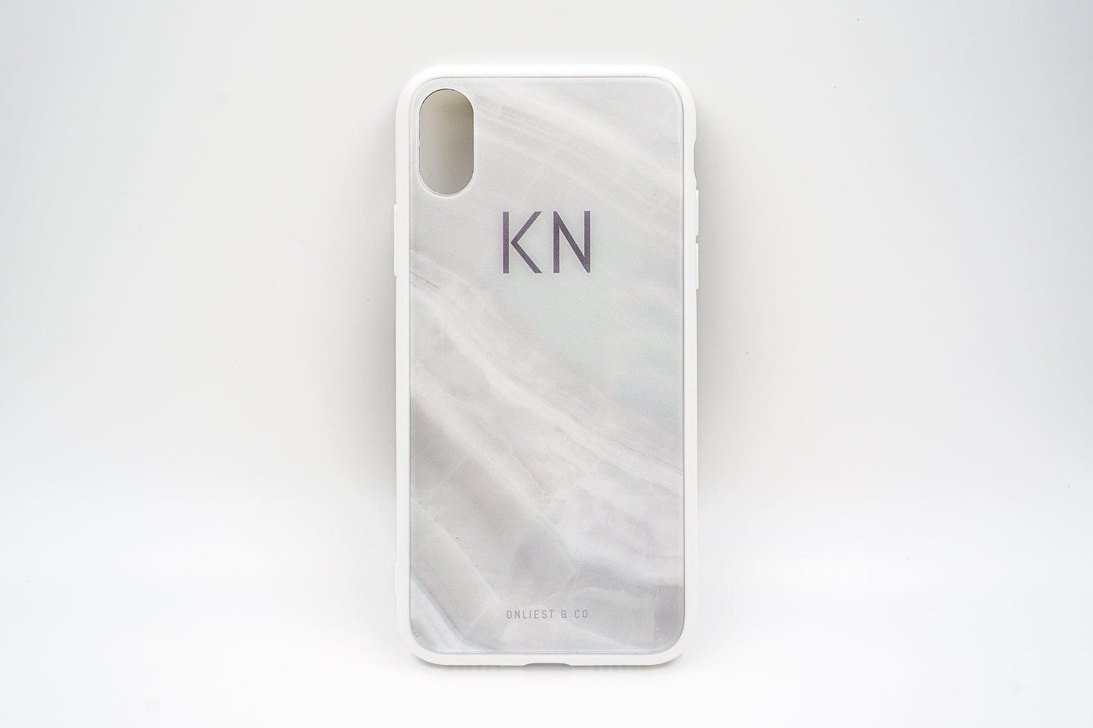 White Marble Case (Glossy Finish) - iPhone