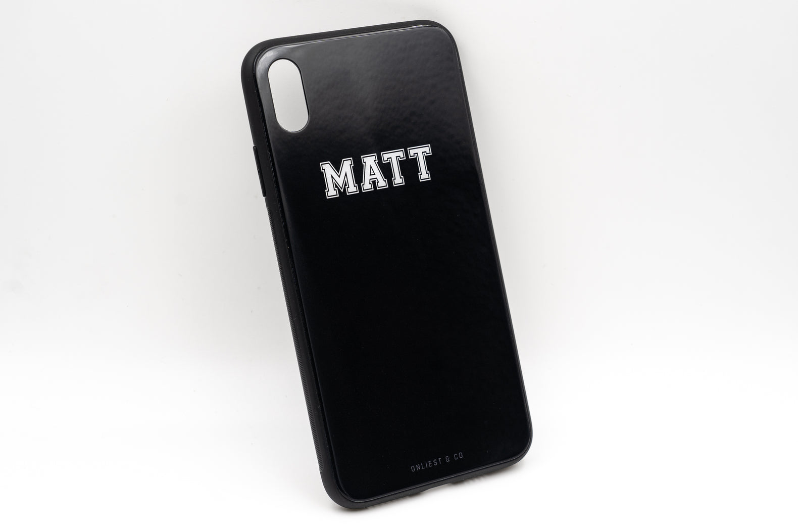 Initial Case (Glossy Finish) - iPhone