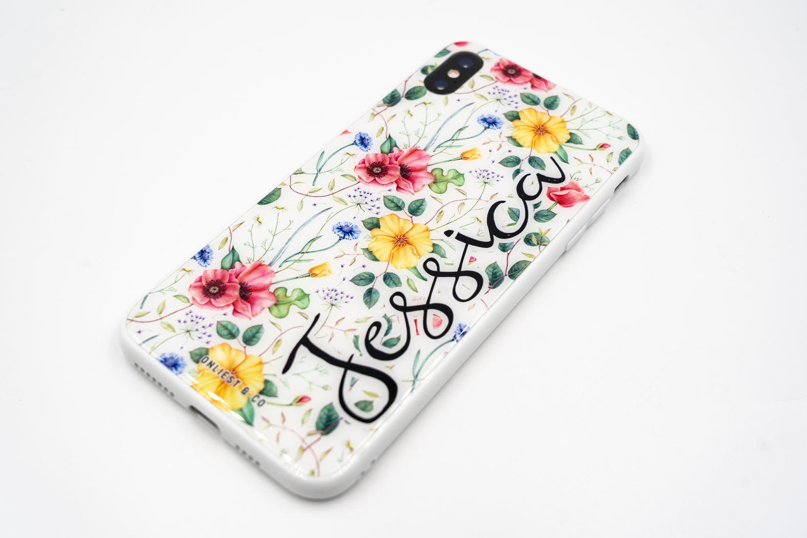 Floral White Case - iPhone