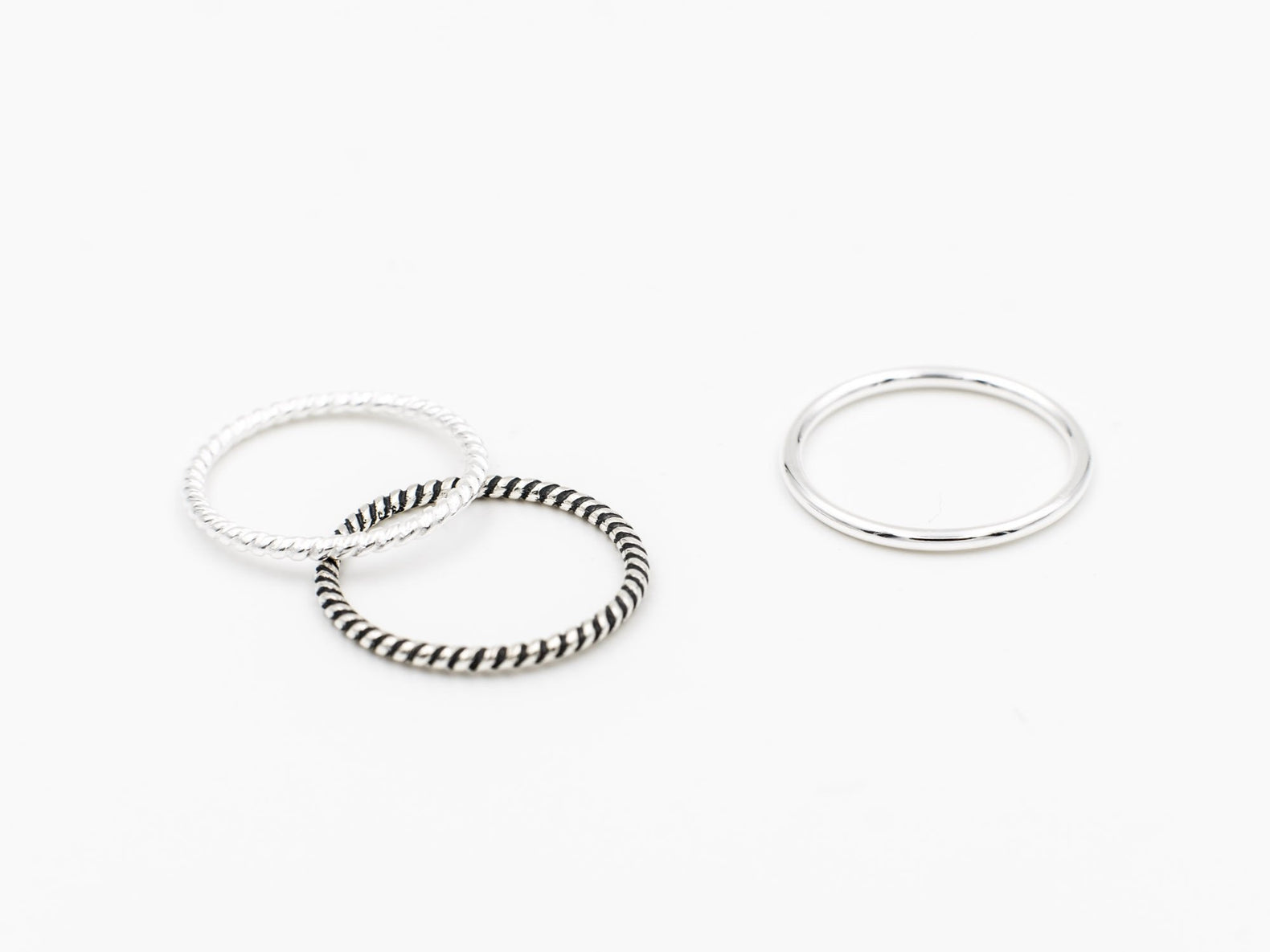 Stacking Ring (Plain Silver)