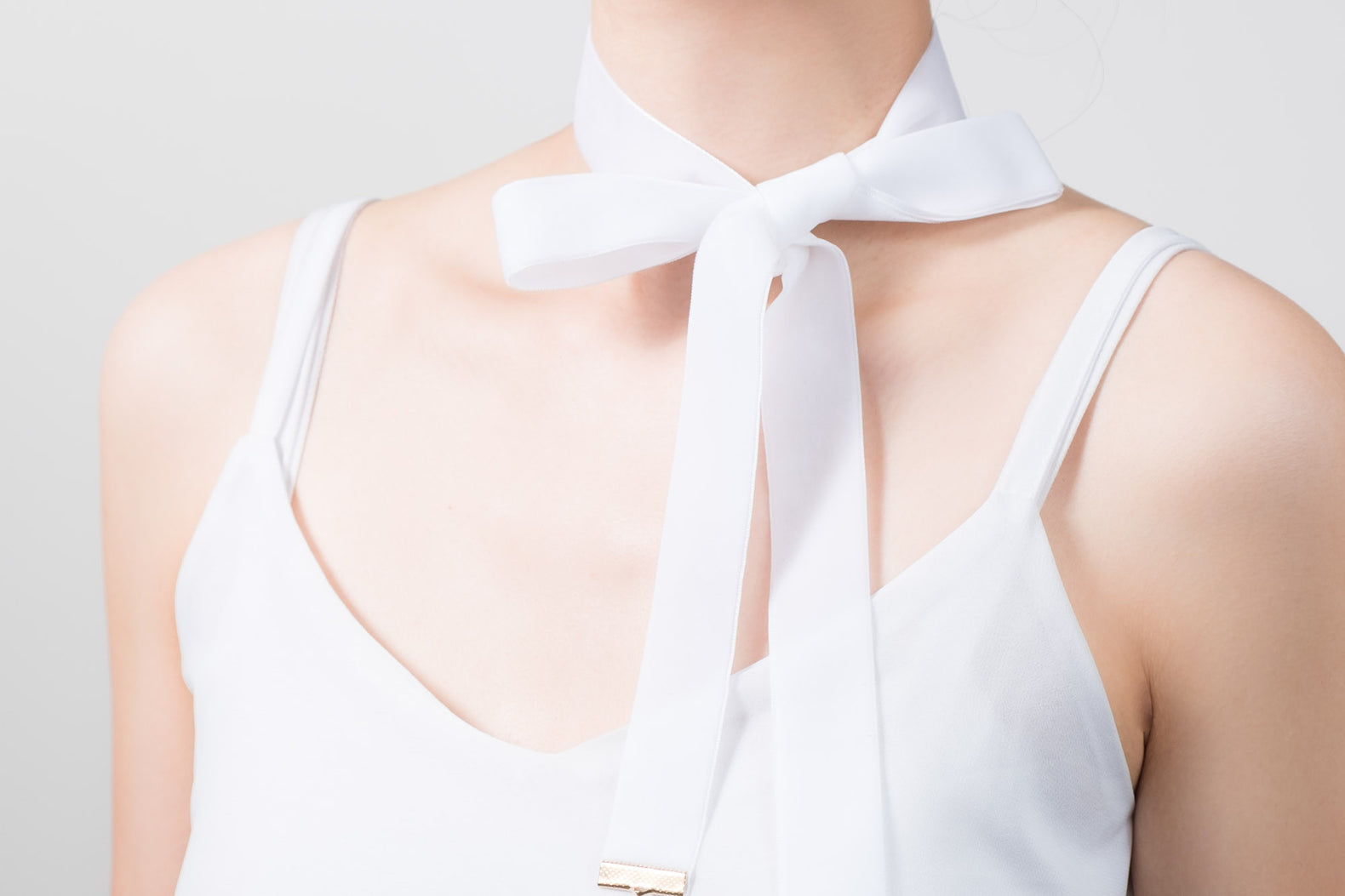 Thick Ribbon Choker