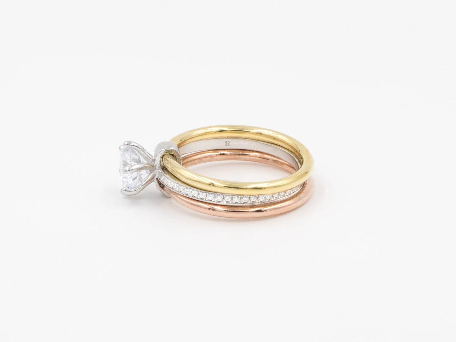Trio Statement Ring