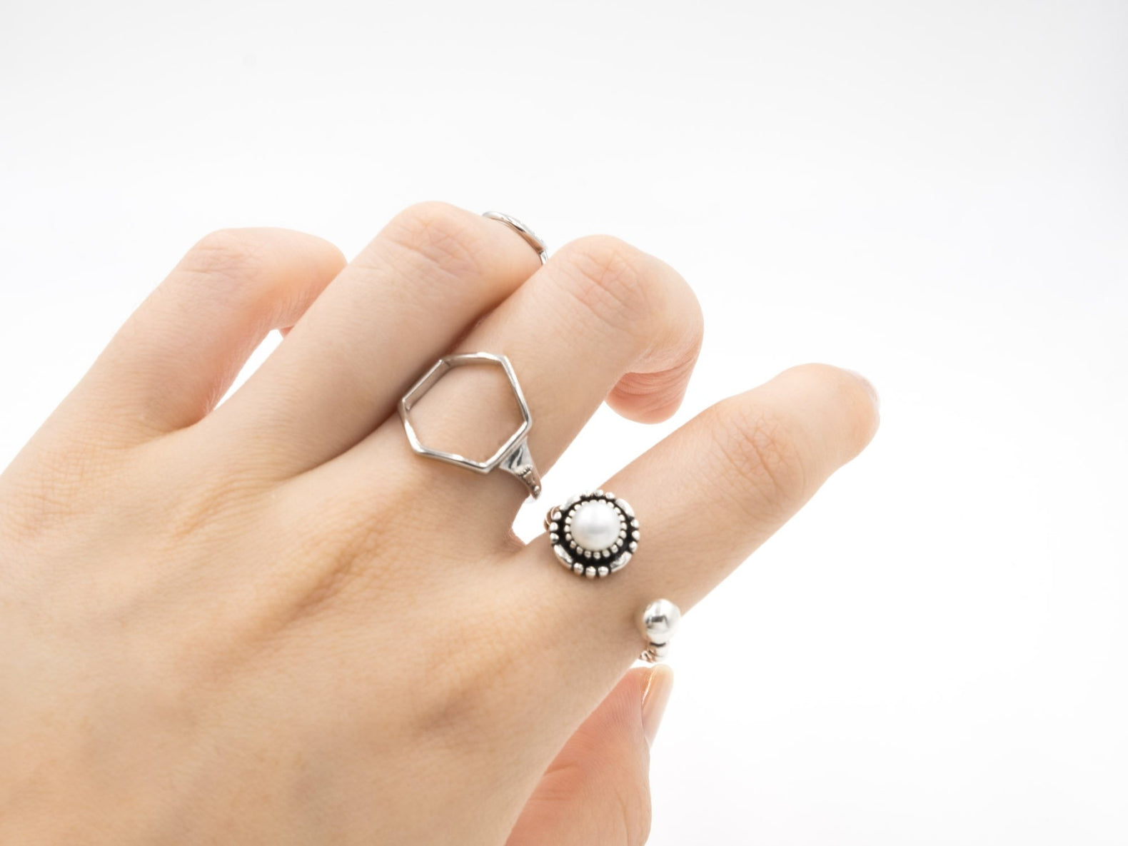 Pearl Eye Ring