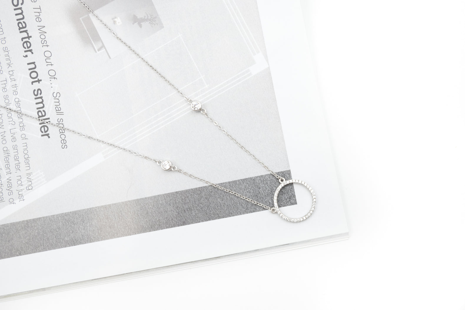 Circle of Light Necklace