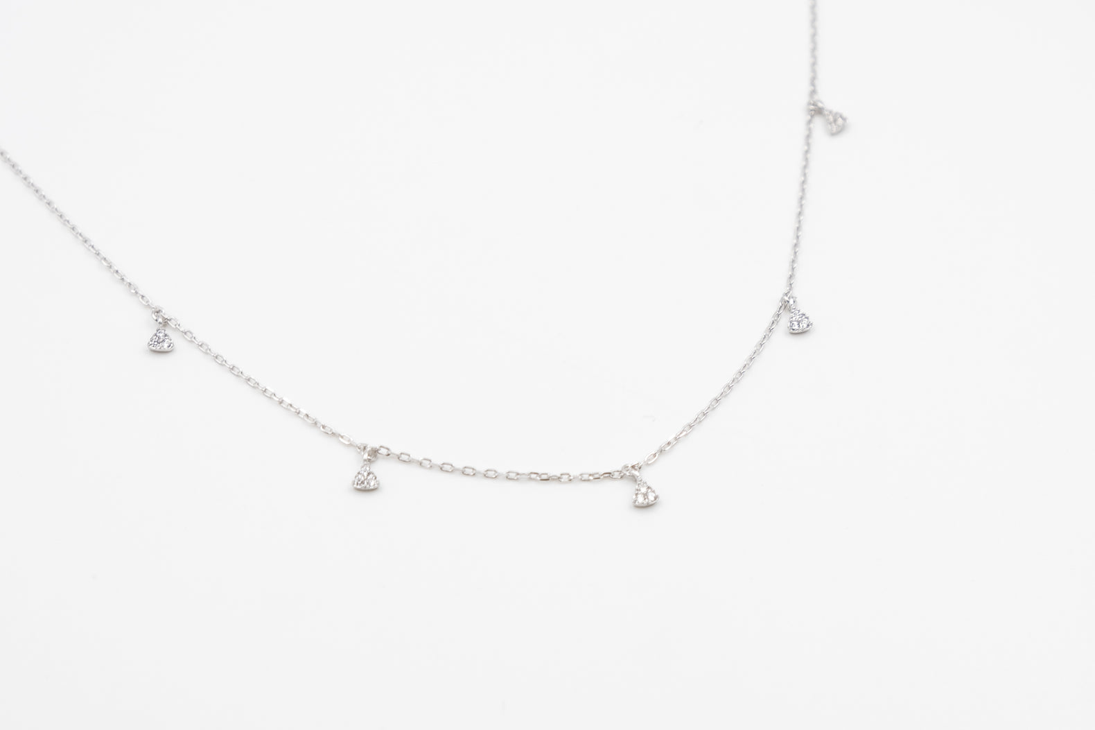 Silver Glittery Necklace